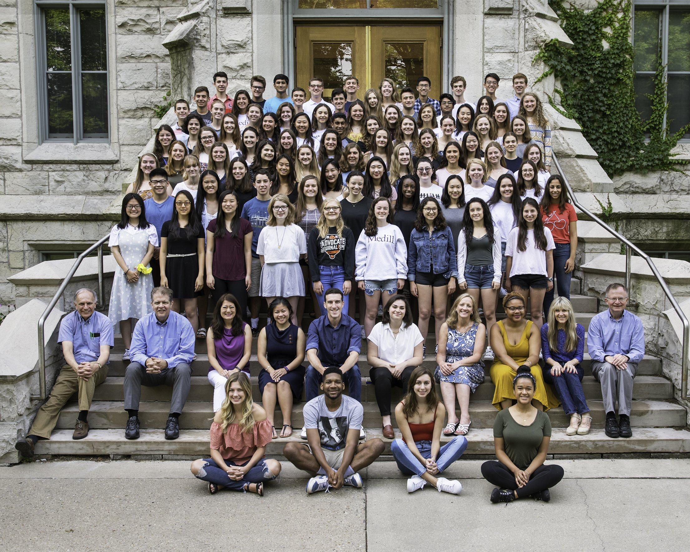 Medill Cherubs - Medill-Northwestern Journalism Institute - summer & extracurricular activities for college