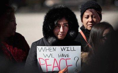 Gun violence protesters