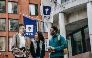 NYU students