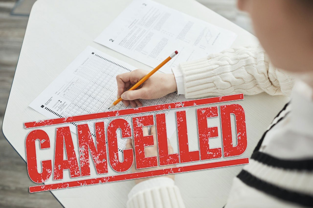 SAT/ACT exams cancelled