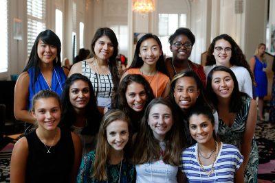 Teen girl activists