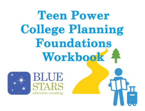 Our New College Planning Workbook for 9th and 10th Graders!